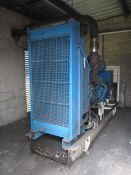 Perkins 2000 series diesel stand by generator, engine no. 8086984U84944U, serial no. 209,