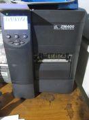 Zebra ZM400 label printer