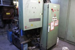 Inductotherm furnace cooling forced air chiller circuit pump system operating both furnace lots