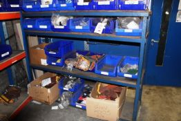 Four shelves of assorted PPE to include Liscombe heat resistant gloves, Bizweld flue resistant