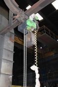 Unbadged chain hoist and pendant control, 3,200kg capacity, Please note: purchaser must ensure...