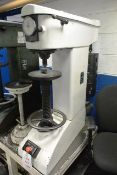 Avery 6405 hardness tester, serial no. E6220/4, 3000kg capacity with associated weights (Please