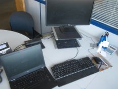 Dell Latitude E7450 Core i5 laptop, Dell docking station, flat screen monitor, keyboard, mouse