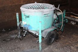 IMER Setic Refractories mix 360 mobile mixer, serial no. 0001004722 (2012)