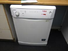 Beko DWD 5414W under counter dishwasher