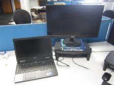 Dell Latitude C5540 core i5 Captors Dell docking station, flat screen monitor