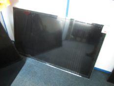"""Panasonic TX-L50EM6B, 49"""" flat screen TV, no remote control"""