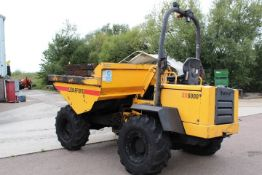 Barford SX6000 articulated diesel dump truck, serial no. SX61 354/SESK0879 (2005), rated capacity