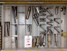 Contents of Drawer M - tools/Centres/Collets (Acceptance of the final highest bid on this lot is