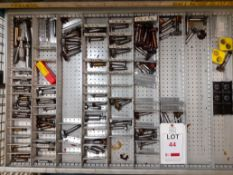 Contents of Drawer H - Dovetail/T-Slot/Woodruff Cutters (Acceptance of the final highest bid on this
