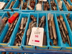 6 trays of Miscellaneous Drills - tray no.1387-1732