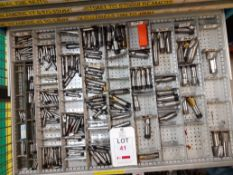 Contents of Drawer E - Slot Drills (Acceptance of the final highest bid on this lot is subject to