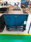 ATOMAK - tipping swarf skip, serial no: 2987