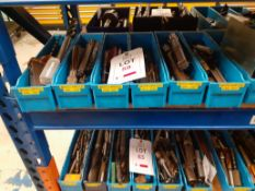 6 trays of Miscellaneous Drills - tray no.3046-3517