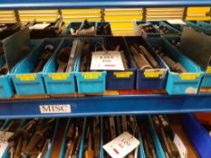 6 trays of Miscellaneous Drills - tray no.3319-4222
