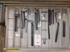 Contents of Drawer P - Internal Turning Tools (Acceptance of the final highest bid on this lot is