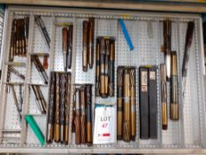 Contents of Drawer K - Reamers (Acceptance of the final highest bid on this lot is subject to the