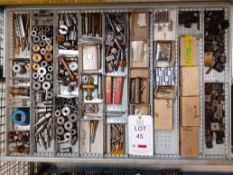 Contents of Drawer I - Contents (Acceptance of the final highest bid on this lot is subject to the