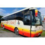 Scania K114 Van Hool T9 Alizee luxury coach, reg no W23 ACT, DOR 21.10.2002, DOT 11.04.2021, 49