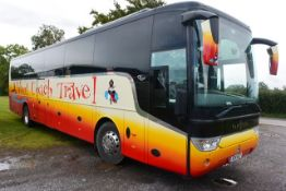 (2014) MAN 91X2L Van Hool TX16 Alicron luxury coach, reg no X24 ACT, DOR 03.06.2014, DOT 26.08.20,
