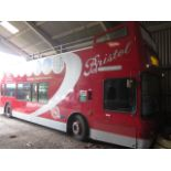 Dennis Trident with Plaxton President II Full Open Top Body, 8.268cc.Registration: LN51 KXZ.Recorded