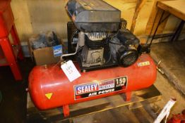 Sealey Power Products 150 litre receiver mounted air compressor (2014)