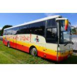 Scania K114 Van Hool T9 Alizee luxury coach, reg no S21 ACT, DOR 01.04.2003, DOT 04.02.2021, 49