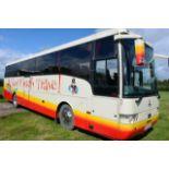 Scania K114 Van Hool T9 Alizee luxury coach, reg no V22 ACT, DOR 07.03.2001, DOT 28.01.2021, 49