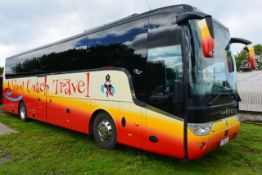 (2016) Scania K410 EB Euro 6 Van Hool TX15 Alicron luxury coach, reg no Y25 ACT, DOR 27.06.2016,