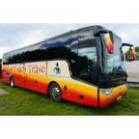 (2016) Scania K410 EB Euro 6 Van Hool TX15 Alicron luxury coach, reg no Y25 ACT, DOR 27.06.2016,