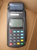 John Groves Ticket Systems portable payment and receipt machine