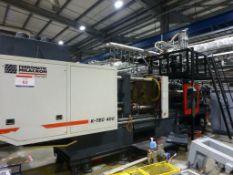 Ferromatik Milacron K-Tec 400S CNC Plastic Injection Moulding Machine Serial No: 570093 (2002),
