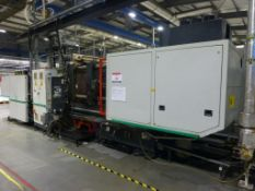 Ferromatik Milacron K-Tec 400S CNC Plastic Injection Moulding Machine Serial No. 570058 (2000)
