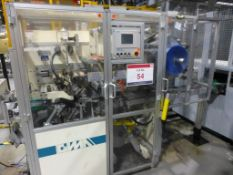 GIMA Type 884 DVD CNC Rotary Thermal Welding Machine Serial No. 88465FO (2003). Please note: A