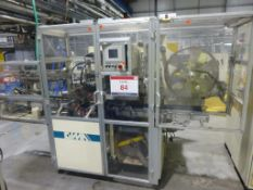 GIMA Type 884 DVD CNC Rotary Thermal Welding Machine Serial No. 88440AO (2002) with flip unit.