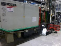 Ferromatik Milacron K400-S CNC plastic injection Moulding Machine Serial No. 570029 with 4000kN