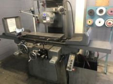 "Jakobsen surface grinder with 32"" x 10"" table size and 750mm x 250mm magnetic chuck (A Risk"