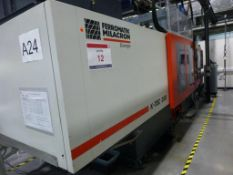 Ferromatik Milacron K-Tec 350S CNC Plastic Injection Moulding Machine Serial No 565230 (2002) with