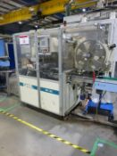 GIMA 884 DVD case wrapper/welder Serial No. 8841200 (2002) with Siemens Simatic TP27 control unit