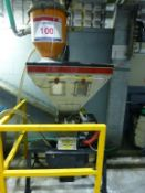 Maguire WSB-140 weighscale gravimatic blender, s/n101574-14 (2002) with Summit SVLM5 hopper loader ,
