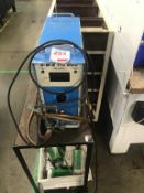 D-M-E Proweld UMW0001U micro welding unit with trolley, serial No DRH-00208
