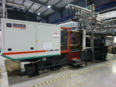 Ferromatik Milacron K-Tec 400S CNC Plastic Injection Moulding Machine Serial No. 570049 (2000)