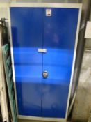 1950mm high double door steel storage cupboard
