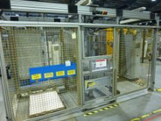 SCM Handling Twin Pallet Robot Palletiser Serial No. BC4272-SI4478-12.02-B09 with freestanding