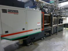 Ferromatik Milacron K-Tec 400S CNC Plastic Injection Moulding Machine Serial No. 570051 (2000)