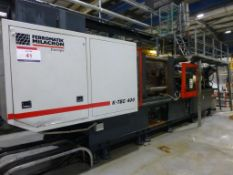 Ferromatik Milacron K-Tec 400 CNC Plastic Injection Moulding Machine Serial No. (570065) 2002