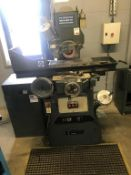 "Jones & Shipman 540 surface grinder, serial No B0 799+81 with 26"" x 6"" table size, Eclipse 18"" x"