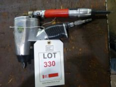 SIP pneumatic impact wrench and Desoutter 2B89-A pneumatic screwdriver