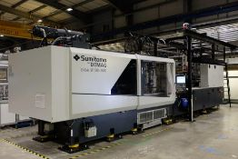 Sumitomo- Demag EL-EX15SP 580/1020-3000 CNC Electric Plastic Injection Moulding Machine Serial No:
