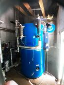 Fulton 60J gas operated steam boiler system, serial no: F1011924B/25 (2008), max rating 60kw, Fulton
